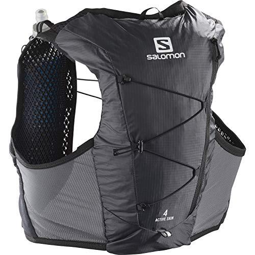 Chaleco de hidratación Salomon Active Skin 4 para hombre con SensiFit y construcción Quick Link para trail running