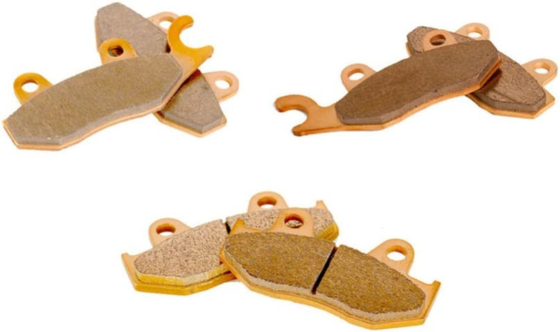 Fresno Mall Race Driven Front and Rear Severe Brake Duty Pads Yamaha for YFZ San Antonio Mall