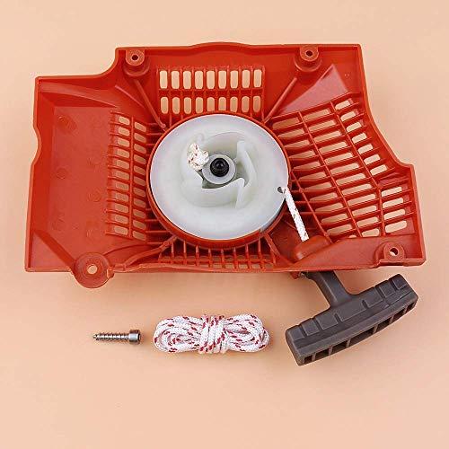 HaoYueDa Kit de Tornillos de Montaje de Cuerda de tracción de Arranque de Retroceso Compatible con Piezas de Motosierra 365372371362 503 62 82-01