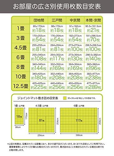 CBジャパン『ジョイントカラーマット8枚組』