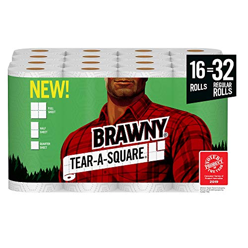 Brawny Paper Towels 16 Mega Rolls Available To Order!!!!