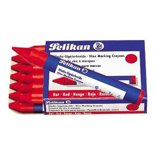 Pelikan Wachs-Signierkreide 772/12 Rot
