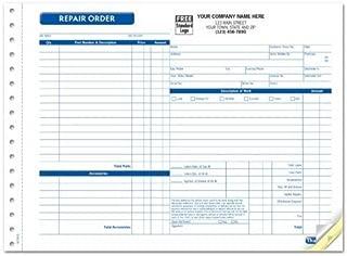 Repair Orders, Garage, Carbonless, Side-Stub, Large Format