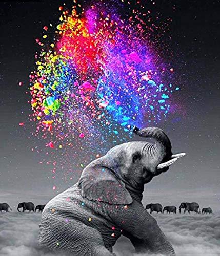 N/R 1000-piece Puzzle-Animal Puzzle-Little Elephant-Cute Bab