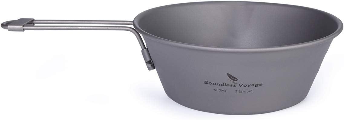 Boundless Voyage 300 450 ML Titanium Ou online shop Folding with Beauty products Bowl Handle