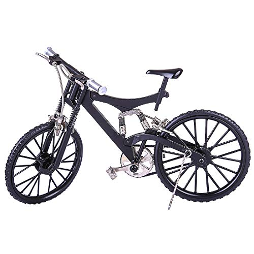 Rolanli Fahrrad Modell Spielzeug, Mini DIY Fahrradmodell Modell Ornamente für Kinder und Erwachsene