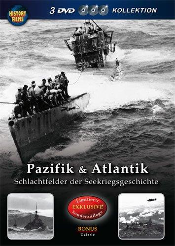 History Films - Pazifik & Atlantik - Schlachtfelder der Seekriegsgeschichte [3 DVDs]