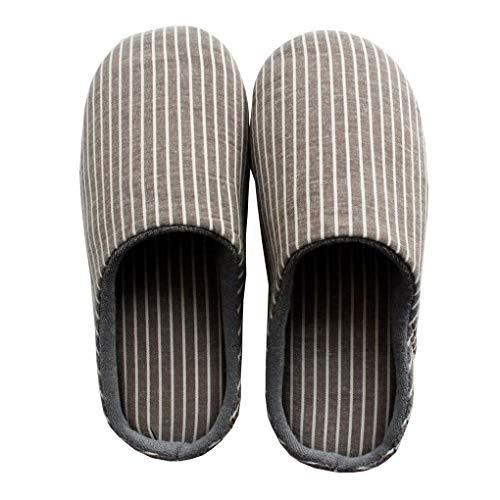 pantofole uomo peluche ACMEDE Pantofole Invernali Donna Uomo Peluche Morbido Antiscivolo Chiuse Scarpe Ciabatte della Camera da Letto
