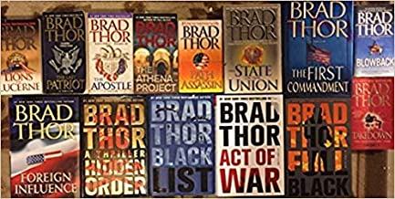 Brad Thor's 17-book SCOT HARVATH Series -- Lions of Lucerne / Path of the Assassin / State of the Union / Blowback / Taked...