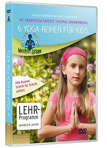 6 Yoga-Reihen auf DVD: DVD mit Kinderyoga-Experte Thomas Bannenberg. Kid-to-Kid-Sports 2 [Alemania]