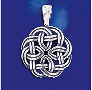 Sterling Silver Celtic Knot Pendant Keltic Ireland Charm Solid 925 Silver New - Silver Jewelry Accessories Key Chain Bracelet Necklace Pendants
