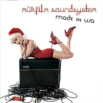 MÜRFILA Sound system Made in USA