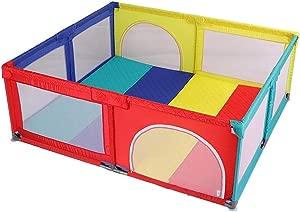 LNDDP Playpens Play Yard Portable  Nursery Center Play Yard  Toddler Boy Girl Crawl Play Area  Indoor Safety Game  150 150 70cm
