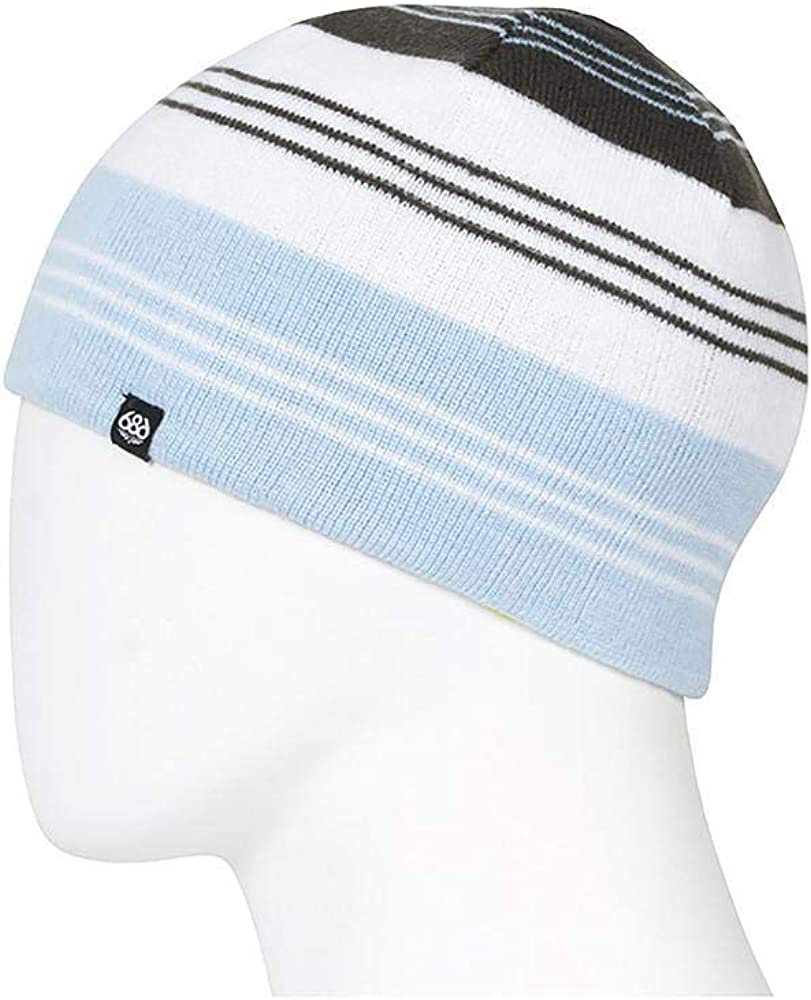 686 Girls' Fort Worth Max 72% OFF Mall Reversible Glow Beanie Acrylic One 100% Fits Size