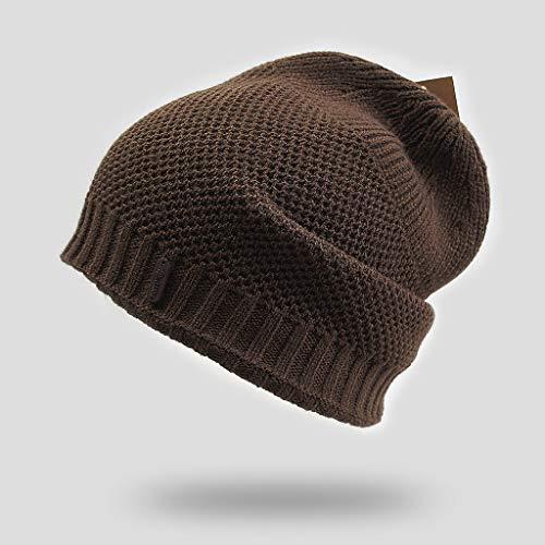 CJH Bruine Hoed Mannelijke Winter Tide Winter Hoed Koude Warm Jeugd Gebreide Hoed Outdoor Warm Hoed Casual Hoed Gift