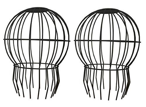 Grote Ballon Drain Guards Ideaal voor ventilatieopeningen, schoorsteenrook, afvoeren en 4 Inch Gutter Down Pipes (Set van 2)