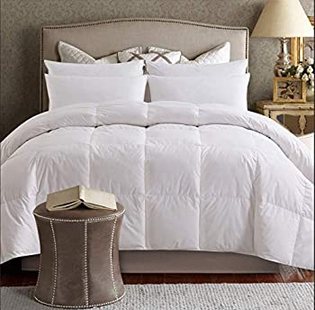 Elnido QueenWhite Goose Duck Down and Feather Comforter