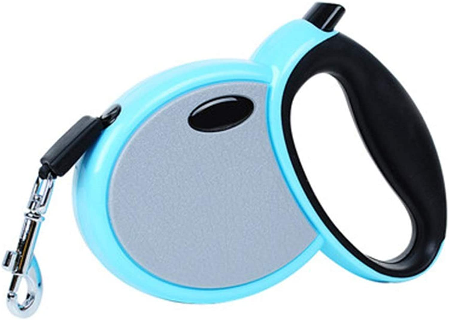 Retractable Dog Strap, Dog Walking Leash,for Small Dogs,no Tangles,oneButton Locking,Suitable for Dogs Within 7.510kg (color   bluee, Size   3m)