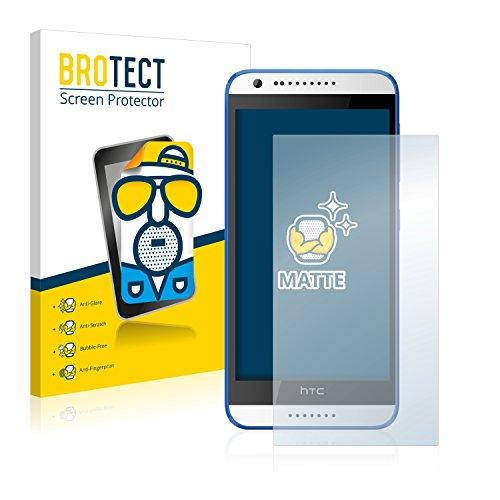 BROTECT 2X Entspiegelungs-Schutzfolie kompatibel mit HTC Desire 620 Bildschirmschutz-Folie Matt, Anti-Reflex, Anti-Fingerprint