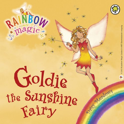 Rainbow Magic - The Weather Fairies: Goldie the Sunshine Fairy audiobook cover art