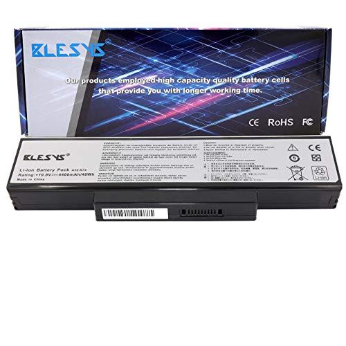 BLESYS A32-K72 A32-N71 Batería para portátil ASUS K72J A72F A72J A73 K72 K72F K72JT K73 N71 N73 X72D X72F X72J X73 X73T X73E X77 X7A X7B X7C X72D X7BS K73SM Serie Notebook 10.8V 4400mAh 48Wh