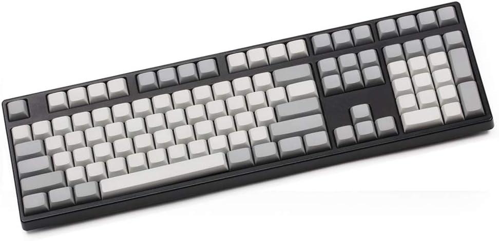108-Key NPKC Blank XDA Keycaps ANSI ISO Layout 61 Keys/87 Keys 108 Keys Fit with MX Switches of Mechanical Keyboards