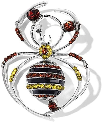FOPUYTQABG Brooch Brooch Classic fashion ladies exquisite popular decoration animal pins pins rhinestones bee spider pins dragonfly pins pins