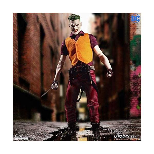 Mezco One:12 Collective The Joker Clown Prince of Crime Standard 5