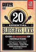 20 Essential Bluegrass Licks [DVD]