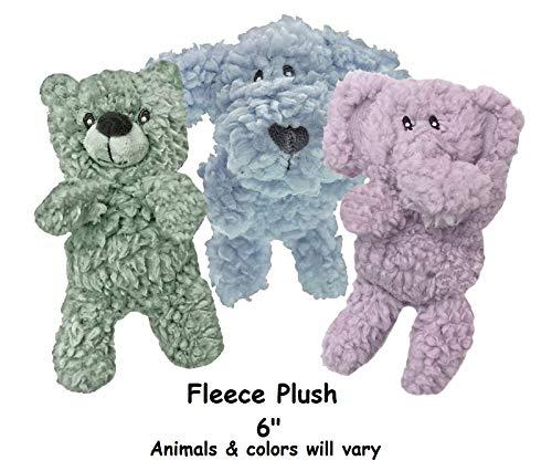 MPP Aromadog Fleece Dog Toy Calming Pet Seperation Anxiety Aromatherapy Choose Shape (Fleece Plush - 6')