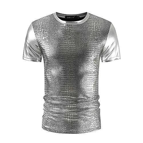 CFWL Camiseta Ajustada De Manga Corta para Hombre De Verano Camiseta Casual con Estampado De Serpiente...