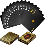 Maxstore Carte da Poker in plastica Design 100% Resistente all'Acqua Colori Resistenti all...
