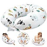 Almohada Embarazada y Cojin Lactancia - Cojín Embarazo Maternidad Dormir y Cojines Nido Bebe Grande