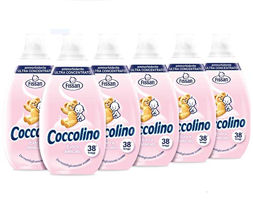 Coccolino Intense Extra Delicato New - Pacco da 6 x 570 ml - Totale: 3420 ml