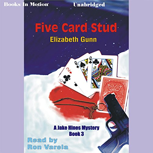 Five Card Stud audiobook cover art
