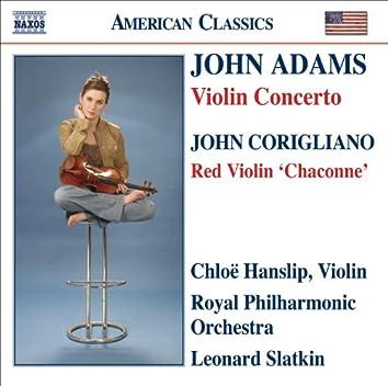 John Adams: Violin Concerto - John Corigliano: The Red Violin: Chaconne
