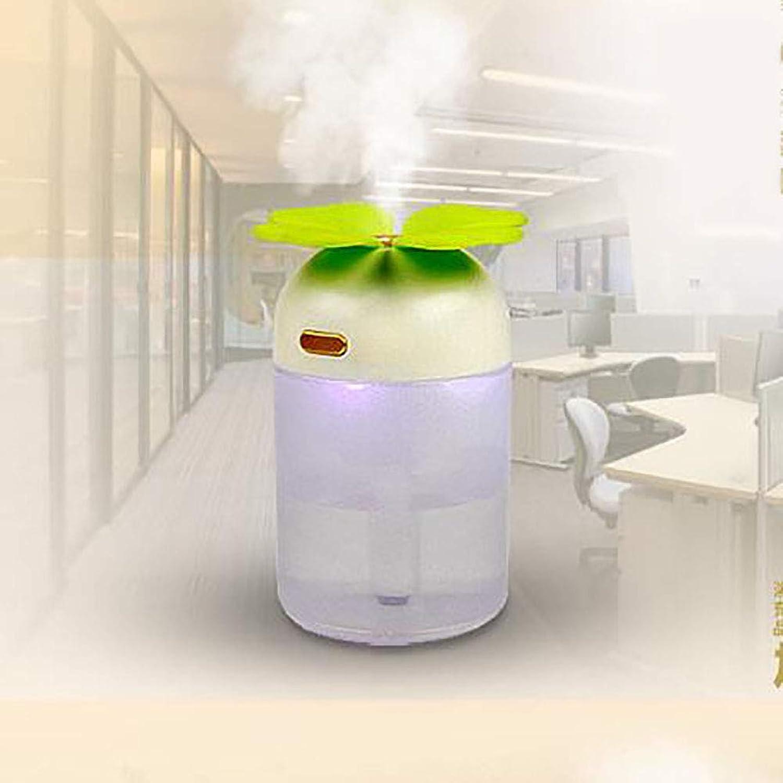 空気清浄機2018新空気清浄機ナイトライトミニ加湿器空気清浄機Usbオフィスミュートクリエイティブホーム空気清浄スプレーカー (色 : A, サイズ : 85 * 8 * 118MM)