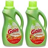 Gain Liquid Laundry Fabric Softener, Island Fresh, 2 Packs x 60 Loads / 51 fl oz - 120 Loads