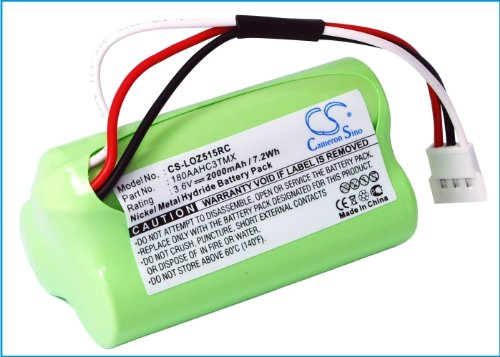 Batterie Kompatibel mit Logitech Z515 NI-MH 3.6V 2000mAh - 180AAHC3TMX