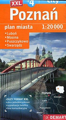 Poznań. Plan miasta w skali 1:20 000