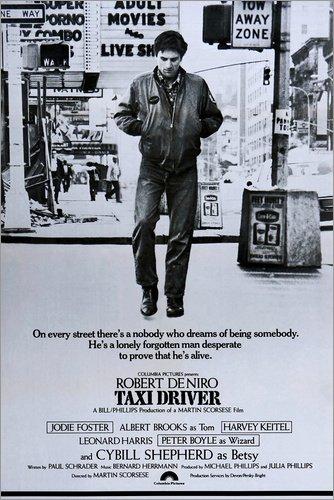 Póster 20 x 30 cm: Taxi Driver de Everett Collection - impresión artística, Nuevo póster artístico