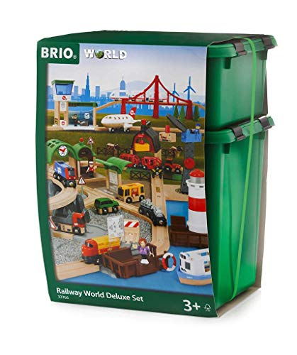 Brio- Railway World Deluxe Set Juego primera edad, Multicolor (33766) , color/modelo surtido
