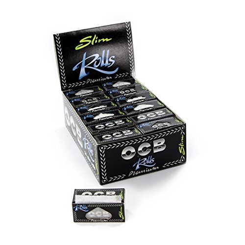 Feuille à Rouler OCB - Lot de 6 rouleaux ROLLS SLIM PREMIUM Cigarette