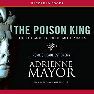 The Poison King audiobook cover art