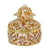 CHQSMZ Scatola di gioielli di marca squisita cavità colorata per portagioie di gingillo