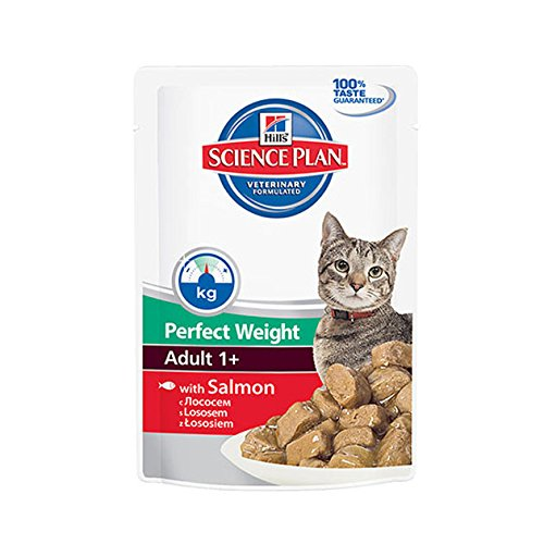 hill' S Science Plan Feline Adult Perfect Weight Salmón 12 x 85 gr