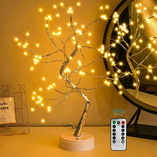 "20"" Fairy Tree Light Lamp 108 Led with Remote - Fairy Light Spirit Tree Celtic Serenity Fairy Light Spirit Tree Lamp"
