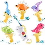 iPlay, iLearn Kids Water Gun Toys, 6 PCS Squirt Guns Dinosaur Shooter, Unicorn Soaker Blaster, Summer Shooting Playset for Pool Yard Beach, Outdoor Party Gift for 3 4 5 6 7 8 Year Old Boy Girl Toddler