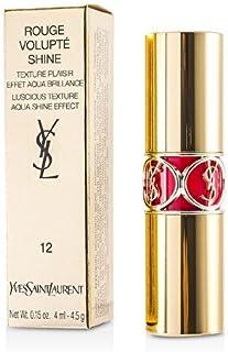 イヴサンローラン(Yves Saint Laurent) ルージュ ヴォリュプテ シャイン #12 CORAIL INCANDESCENT 4.5g [並行輸入品]