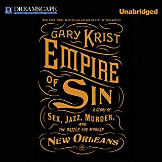 Empire of Sin audiobook cover art